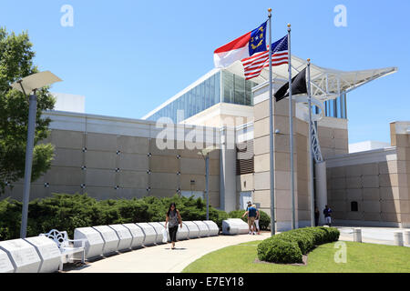 Airborne and Special Operations Museum, Fayetteville, North Carolina, USA - Stock Image