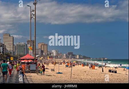 Praia do Leblon - Stock Image