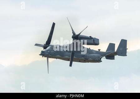 US Air Force CV-22B Osprey, RIAT, RAF Fairford, UK - Stock Image