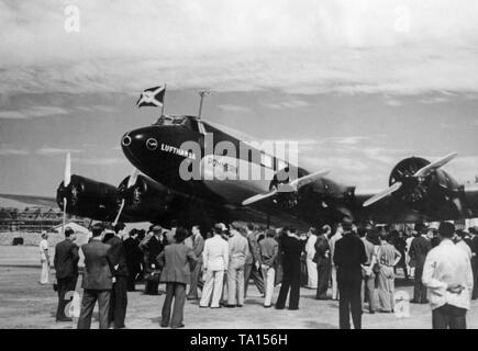 Focke-Wulf FW 200 Condor of Lufthansa with the registration D-AXFO and the name 'Pommern'. - Stock Image