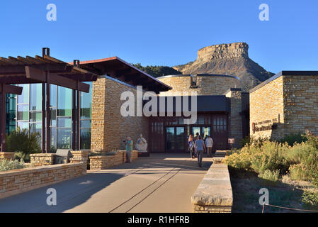 Point Lookout, Visitor and Research Center, Mesa Verde National Park, Colorado, USA 180928_69668 - Stock Image
