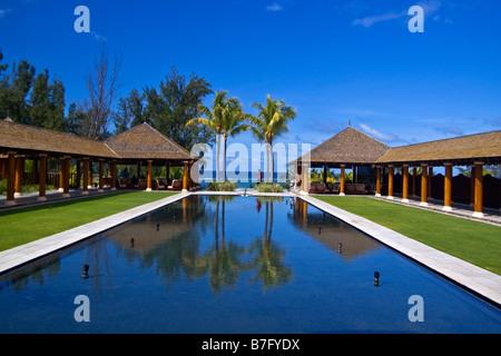 Resort Moevenpick south coast of Mauritius Africa - Stock Image