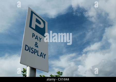 Car Park Sign - Stock Image