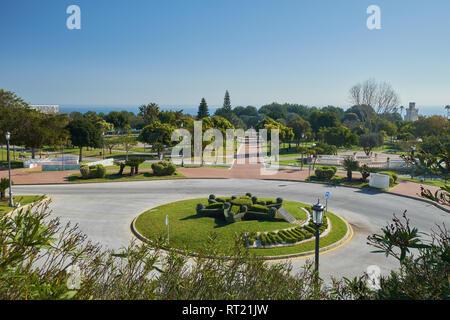 La Batería Park. Torremolinos, Málaga, Spain. - Stock Image