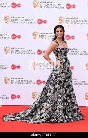 London, UK. 12th May, 2019. LONDON, UK. May 12, 2019: Saira Khan arriving for the BAFTA TV Awards 2019 at the Royal Festival Hall, London. Picture: Steve Vas/Featureflash Credit: Paul Smith/Alamy Live News - Stock Image