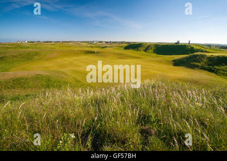 Royal Cinque Ports Golf Club, Deal, Sandwich, Kent - Stock Image