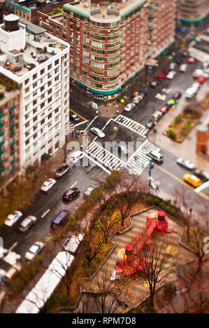 City Intersection - Stock Image