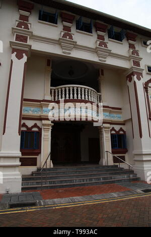 old Temple building, chinatown, Singapore - Stock Image