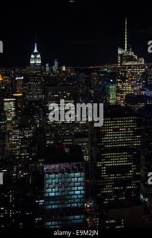 New York City Skyline - Stock Image