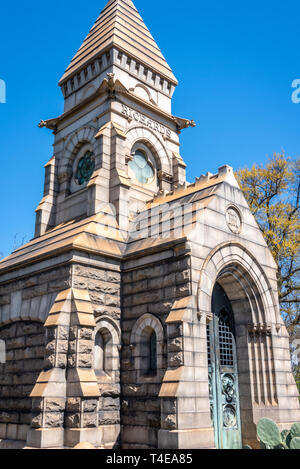 Richards Mausoleum at Historic Oakland Cemetery in Atlanta, Georgia. (USA) - Stock Image