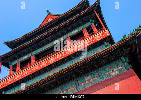 Gulou, Drum Tower, Beijing, China - Stock Image
