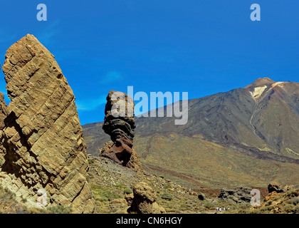Los Roques de Garcia on Tenerife - Stock Image