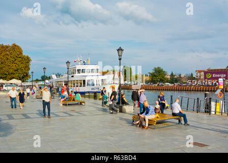 Targ Rybny, Gdansk, Poland - Stock Image