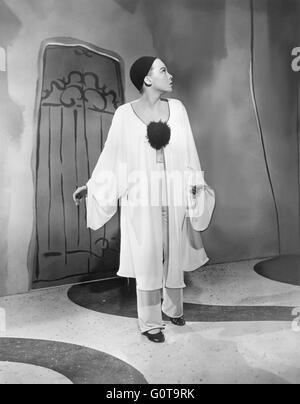 Leslie Caron / Daddy Long Legs / 1955 directed by Jean Negulesco (Twentieth Century Fox Film Corporation) - Stock Image