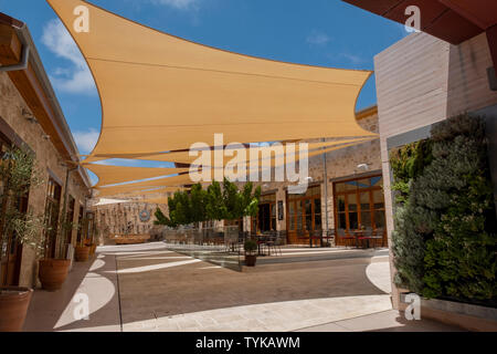 The historic Ibrahim's Khan in the heart of Paphos old town, Cyprus. - Stock Image