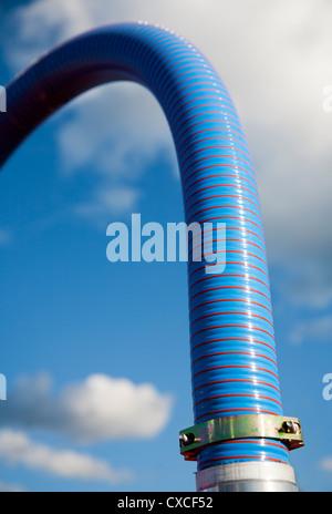 High pressure water hose - Stock Image