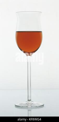 Wine With Wine Glass - Stock Image