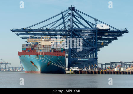 Port of Felixstowe, Suffolk, UK. - Stock Image