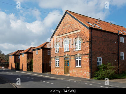 The old Anchor Brewery, Barton upon Humber, North Lincolnshire, England UK - Stock Image