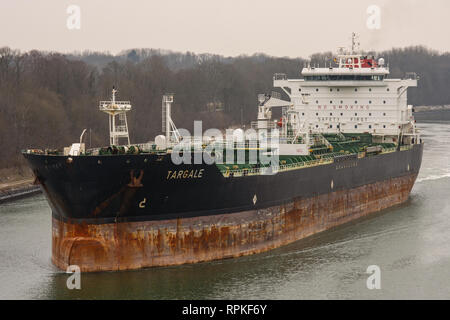 Chemical/Oil Products Tanker Targale - Stock Image