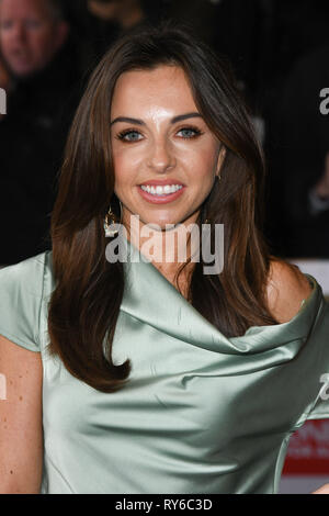 London, UK. 12th Mar, 2019. LONDON, UK. March 12, 2019: Louisa Lytton arriving for the TRIC Awards 2019 at the Grosvenor House Hotel, London. Picture: Steve Vas/Featureflash Credit: Paul Smith/Alamy Live News - Stock Image
