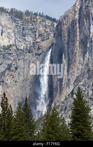 Upper Yosemite Falls, Yosemite National Park, California, USA - Stock Image