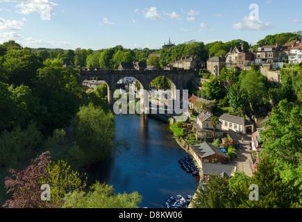 Knaresborough Viaduct - Stock Image