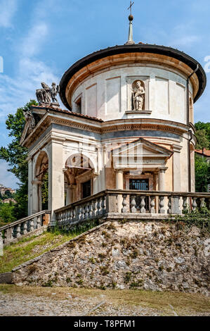 Italy Lombardy Unesco World heritage Site - Sacro Monte di Varese ( Varese sacred Mount ). VII Chapel - the Flagellation - Stock Image