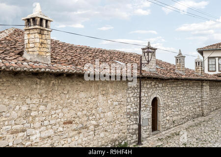 Berat Castle Old Town Albania - Stock Image