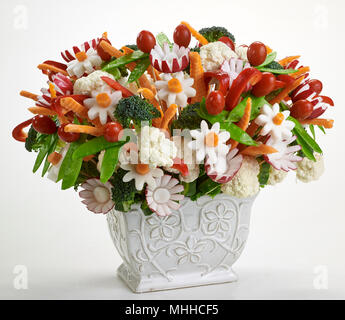 Vegetable Bouquet - Stock Image