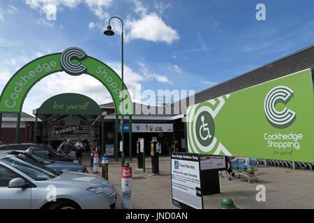 Cockhedge Shopping Centre, Warrington, North West England - Stock Image