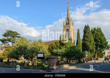 All Saints Church, Marlow,Buckinghamshire, England, UK. - Stock Image