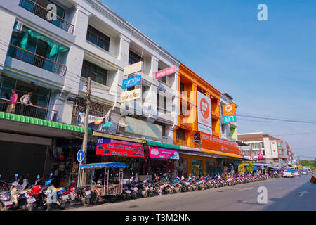 Soi 10, Krabi town, Thailand - Stock Image