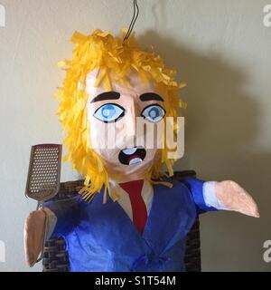 Donald Trump piñata - Stock Image