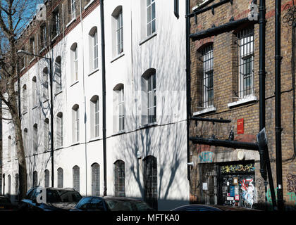 Bridget Riley Artists' Studios in Hackney Wick, East London - Stock Image