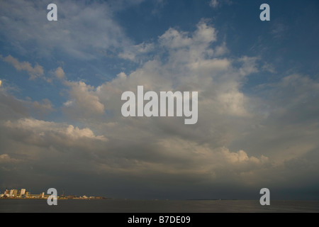 sky clouds heaven - Stock Image