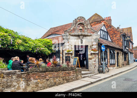 The Old Bell,Pub,The Mint,Rye,East Sussex,England,UK - Stock Image