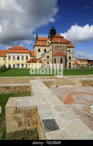 The Velehrad Monastery, Czech Republic. (CTK Photo/Martin Hurin) - Stock Image