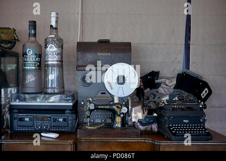 Vintage and antique objects - Stock Image