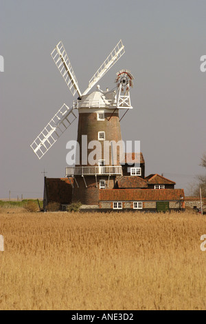 Cley Mill North Norfolk England - Stock Image