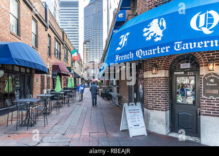 CHARLOTTE, NC, USA-1/8/19: The Latta Arcade on South Tryon and S. Church St. - Stock Image