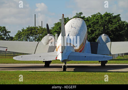 DC-3 rear view - Stock Image