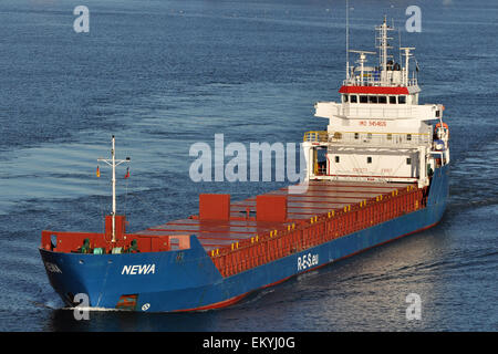 General Cargo vessel Newa - Stock Image