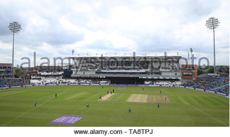 File photo dated 19-05-2019 of A general view of the Emerald Headingley, Leeds. - Stock Image