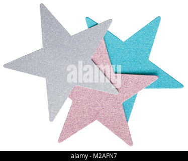 5 point star - Stock Image