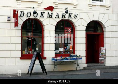 Bookmarks Bookshop, Bloomsbury, London, England - Stock Image