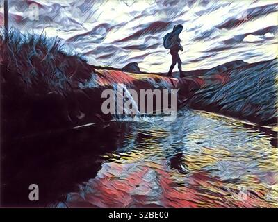 Hiking - Stock Image
