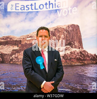 Craig Hoy, councillor,, Scottish Conservative Party, Haddington & Lammermuir by-election, East Lothian May 2019, Scotland, UK - Stock Image