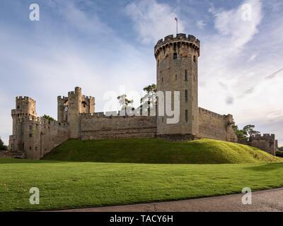Warwick Castle, Warwick, UK - Stock Image