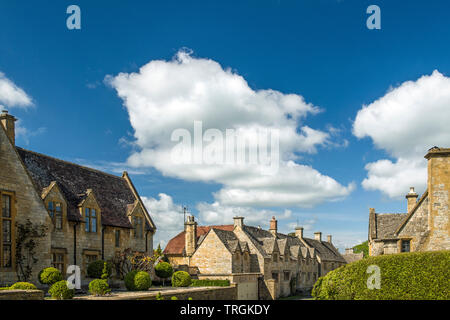 Stanton in the Cotswolds Gloucestershire, a small, old and very pretty village - Stock Image
